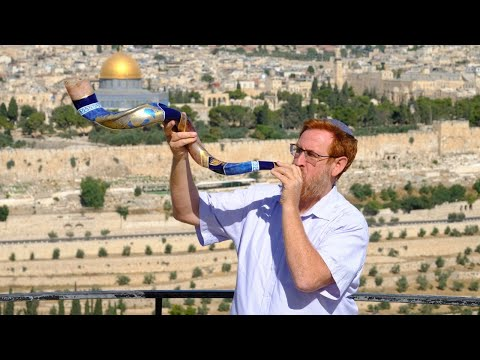 Let The Shofar Blow- Shofar Blowing Ceremony From Mount Of Olives