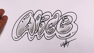 Graffiti Writing Alice Name Design #43 in 50 Names Promotion | MAT