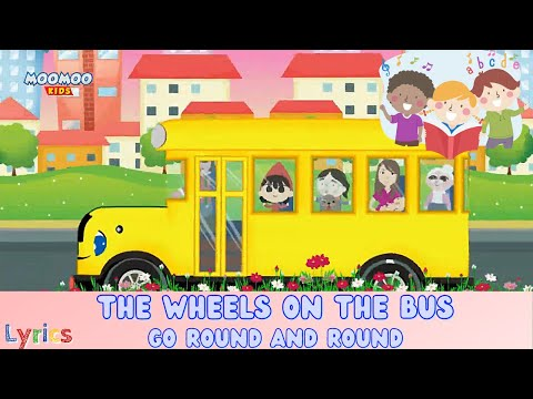 English Songs For Kids    Wheels On The Bus