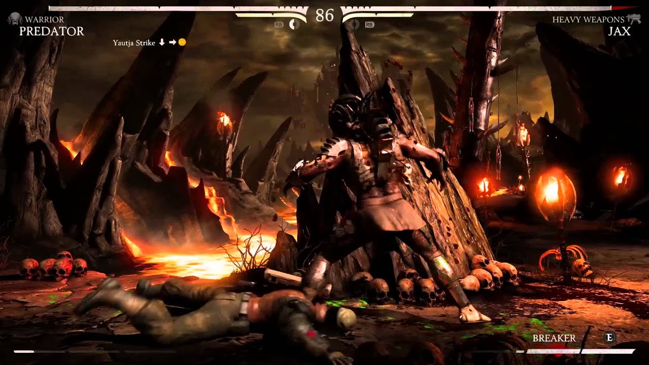 Mortal Kombat X: Predator Gameplay