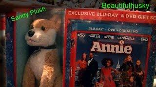 Video Annie Walmart Exclusive Blu-ray & DVD Set With Sandy Plush!! :D download MP3, 3GP, MP4, WEBM, AVI, FLV November 2017