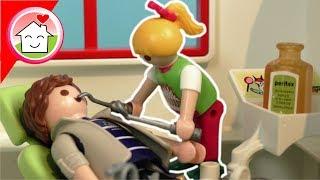 Playmobil Film deutsch - Familie Hauser beim Zahnarzt - Mega Pack Spielzeug Kinderfilm