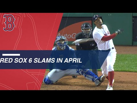 Watch the Red Sox crush 6 grand slams in April