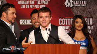 Miguel Cotto vs. Canelo Alvarez COMPLETE Post Fight Press Conference Video