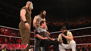 The Wyatt Family threatens and attacks the Raw announce team: Raw, May 26, 2014