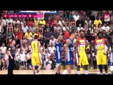 Basket NM1 Demi Finale Final Four - SVBD vs CAEN - 21 05 2016
