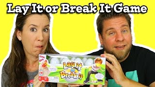 Lay It Or Break It Game