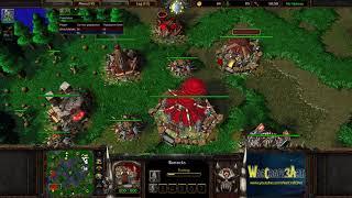 Moon(NE) vs XiaoKK(ORC) - WarCraft 3 Frozen Throne - RN3627