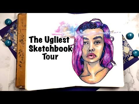 The Ugliest Sketchbook Tour: Stop Comparing Yourself! thumbnail