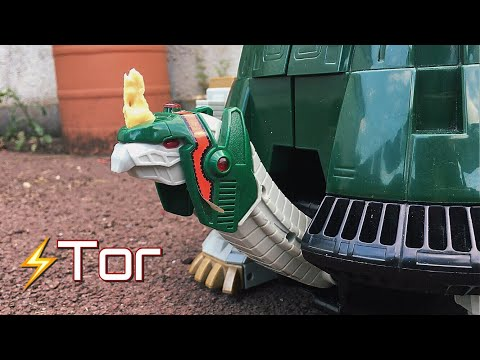 Revisiting Tor the Shuttle Zord & Thunder Ultrazord - 1994 toy review (Mighty Morphin Power Rangers)