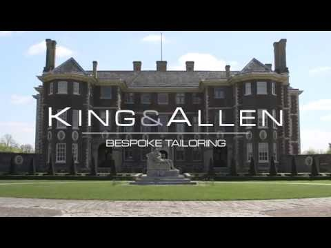King & Allen: Behind-the-scenes of photoshoot at Ham House