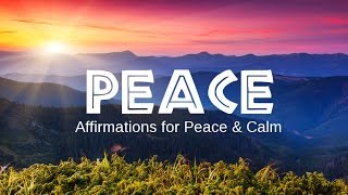 Peace of Mind Affirmations: Based on the Law Of Attraction + Nature Sounds of waves