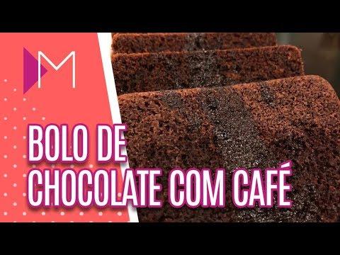 Bolo de chocolate com café - Mulheres (26/06/2018)