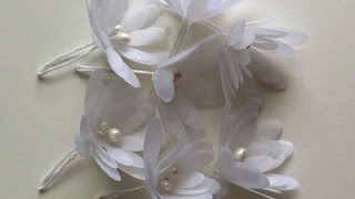 How To Make Beautiful Vellum Flowers - DIY Crafts Tutorial - Guidecentral