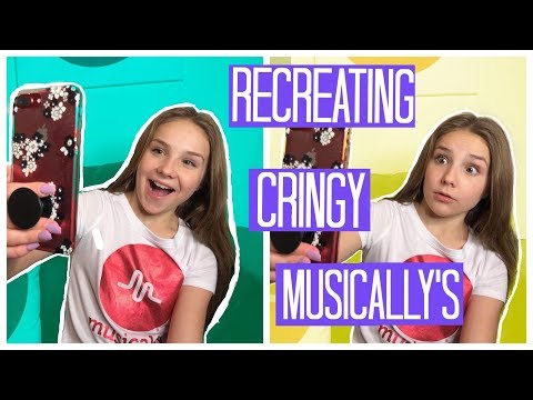 RECREATING My Old Cringy Musical.ly's || Piper Rockelle