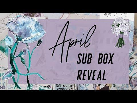 The GP Studio April Planner Sub Box Reveal