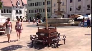 Центр Братиславы  Словакия  Путешествие по Европе(, 2015-05-26T21:36:53.000Z)