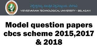 Mechanical Vtu Question Paper