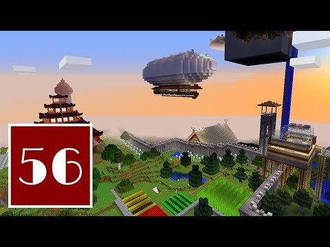 Minecraft Let's Play - 56 Dreymasmith and Satellite's Eggcellent Adventure: Part 2/Easter Special