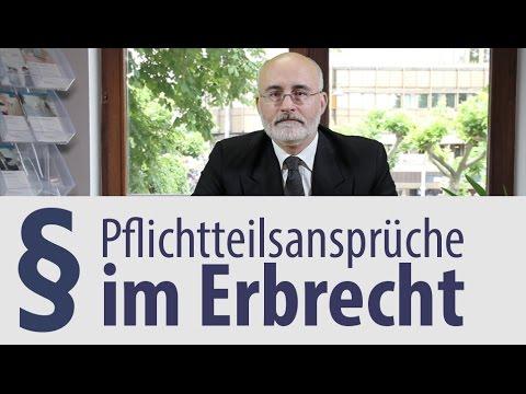 Rechtsanwalt |  Heidelberg |  Erbrecht |  Pflichtteilsrecht