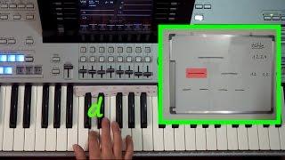 """Kurzdemo zum Lehrvideo """"RHYTHMIK 2"""" (orig.29min) Keyboard spielen lernen O-KEY Online-Keyboardschule"""