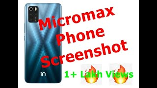 how to take screenshot in Micromax Canvas 5 Lite