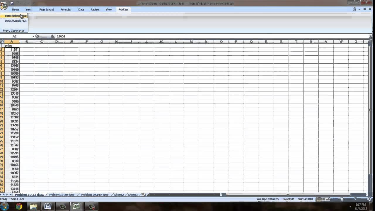 how to use excel to solve statistical problems how to use excel to solve statistical problems