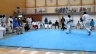 Kyokushin Karate South Africa  (Sempai Luh vs Jikijela)