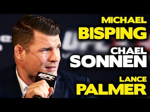 Submission Radio #75 Chael Sonnen, Michael Bisping, Lance Palmer, Elias Cepeda