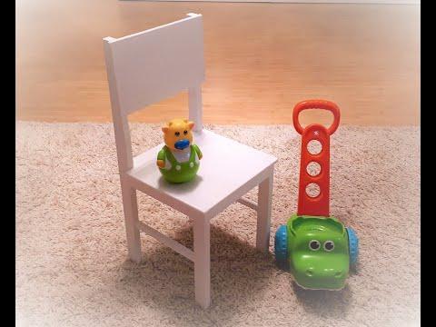 Как сделать детский стульчик из фанеры своими руками