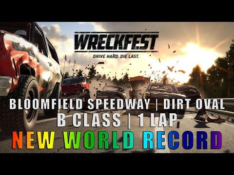 WRECKFEST - Bloomfield Speedway | Dirt Oval | B-Class (1 Lap) [WR]