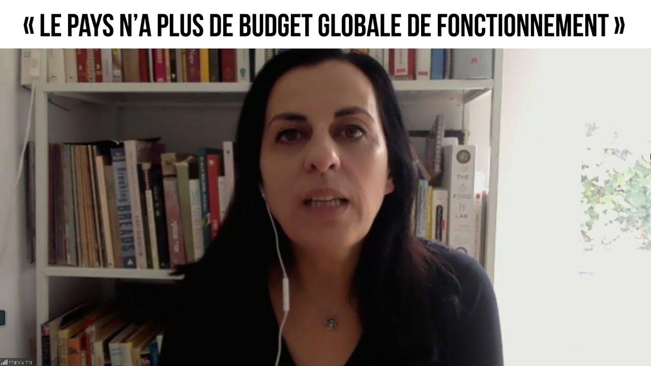 « Le pays n'a plus de budget globale de fonctionnement »