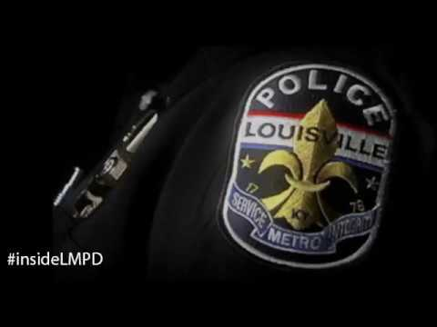 LMPD Body camera - Officer-involved shooting from 1234 Oleanda Ave 2/11/17