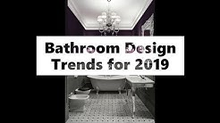 Modern Bathroom Design Trends 2019 - See 65 Bathroom Design Ideas