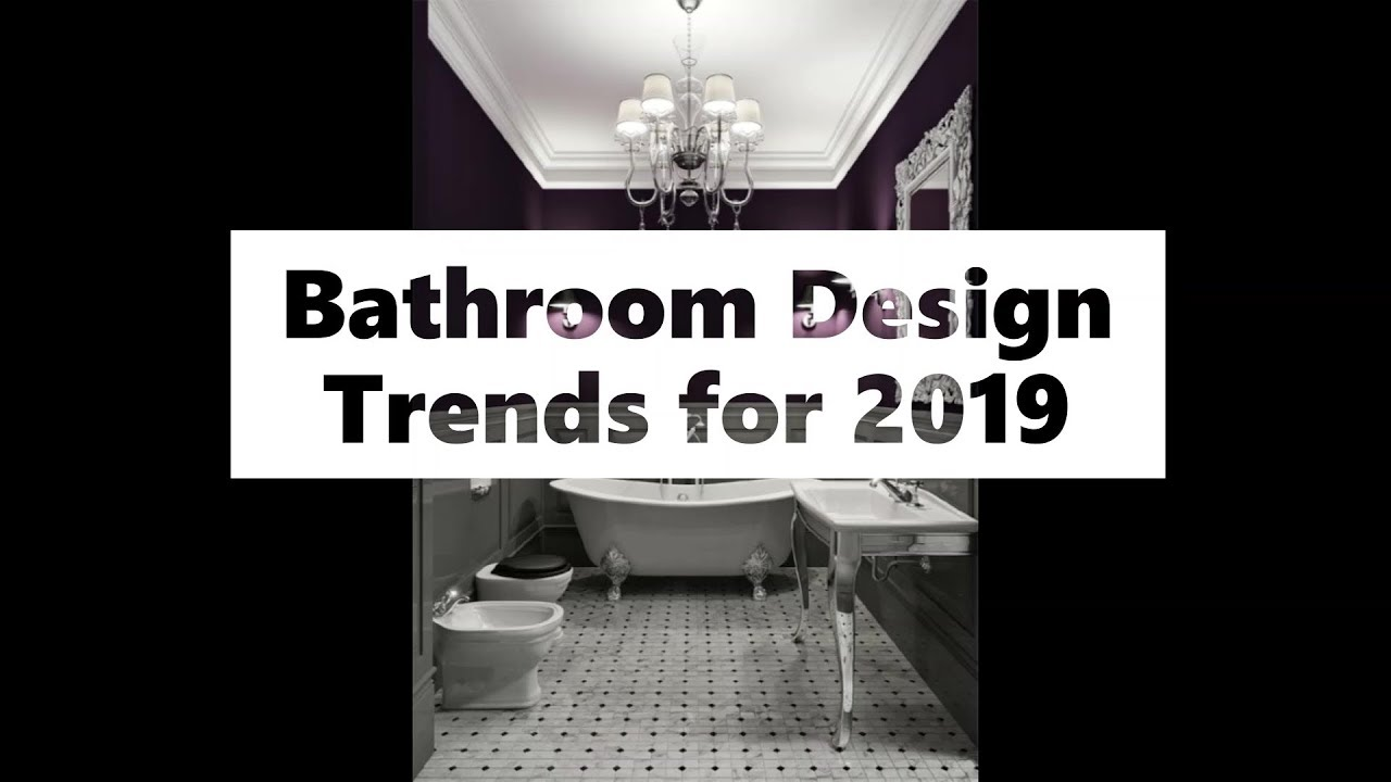 Modern Bathroom Design Trends 2019 See 65 Bathroom Design Ideas Youtube