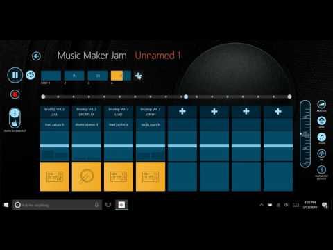 Music Maker Jam Tutorial   Windows 10