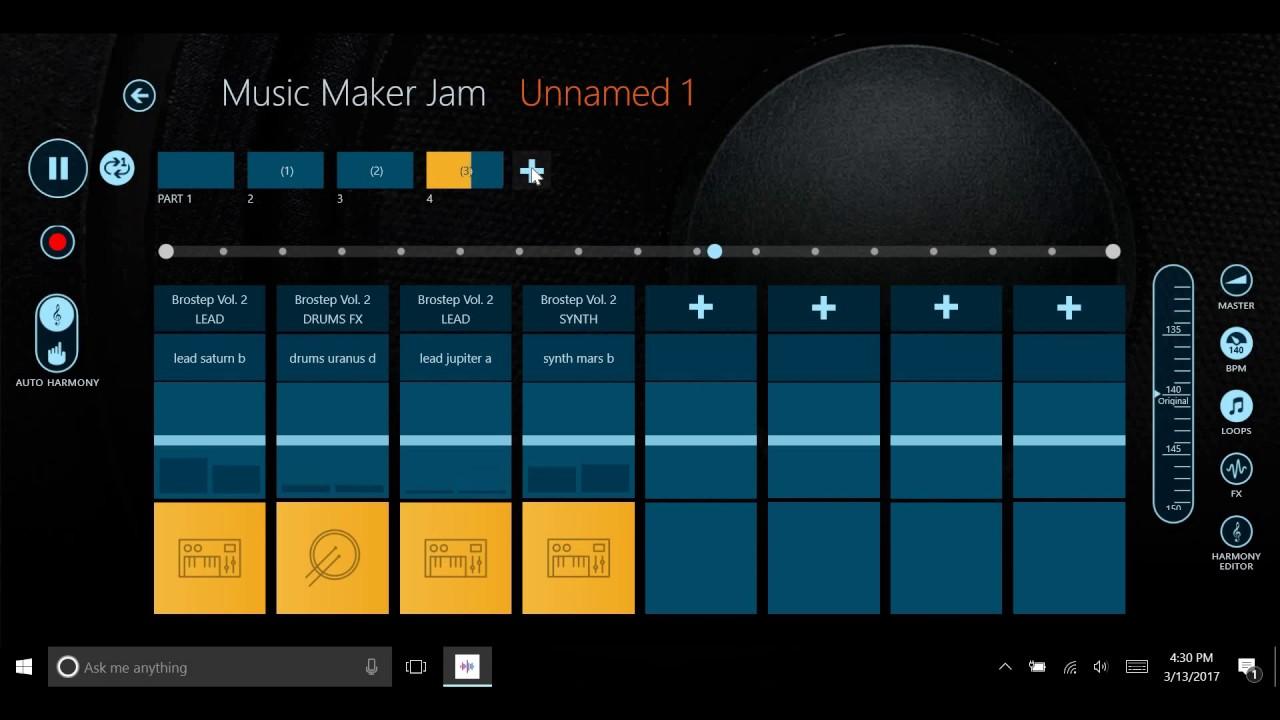 Music Maker Jam Tutorial Windows 10 Youtube