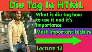 div tag in html with example || what is div tag in html with example by mind touch tech
