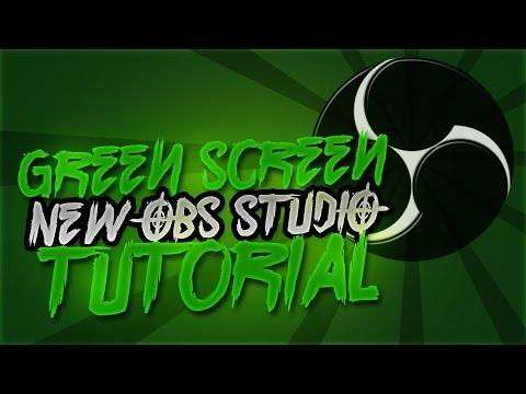 EASY Setup! *NEW* [OBS STUDIO] WEBCAM/GREEN-SCREEN 3 Minute Guide