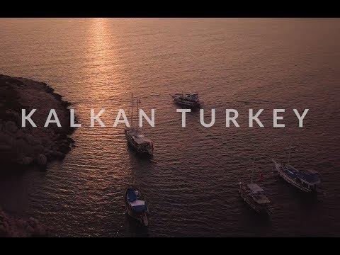 Kalkan Turkey 2017 By Drone 4K