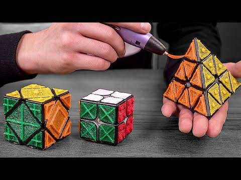 Сделал ГОЛОВОЛОМКИ ДЛЯ СЛЕПЫХ с помощью 3D ручки