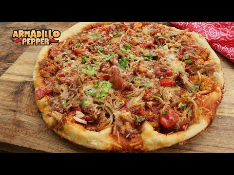 BBQ Pulled Pork Pizza Recipe With Bacon