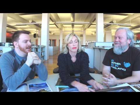Adventurer Steve Rogers talks about eating fermented shark in Iceland