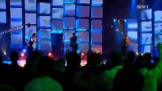 Eurovision 2009 Norway finals winner Alexander Rybak & FRIKAR dance company