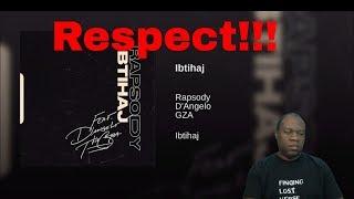 Rapsody - Ibtihaj ft. D'Angelo, GZA (Reaction)