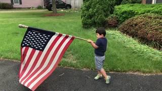 Matt's playtime.  July 4th in Manassas Virginia Happy Birthday America