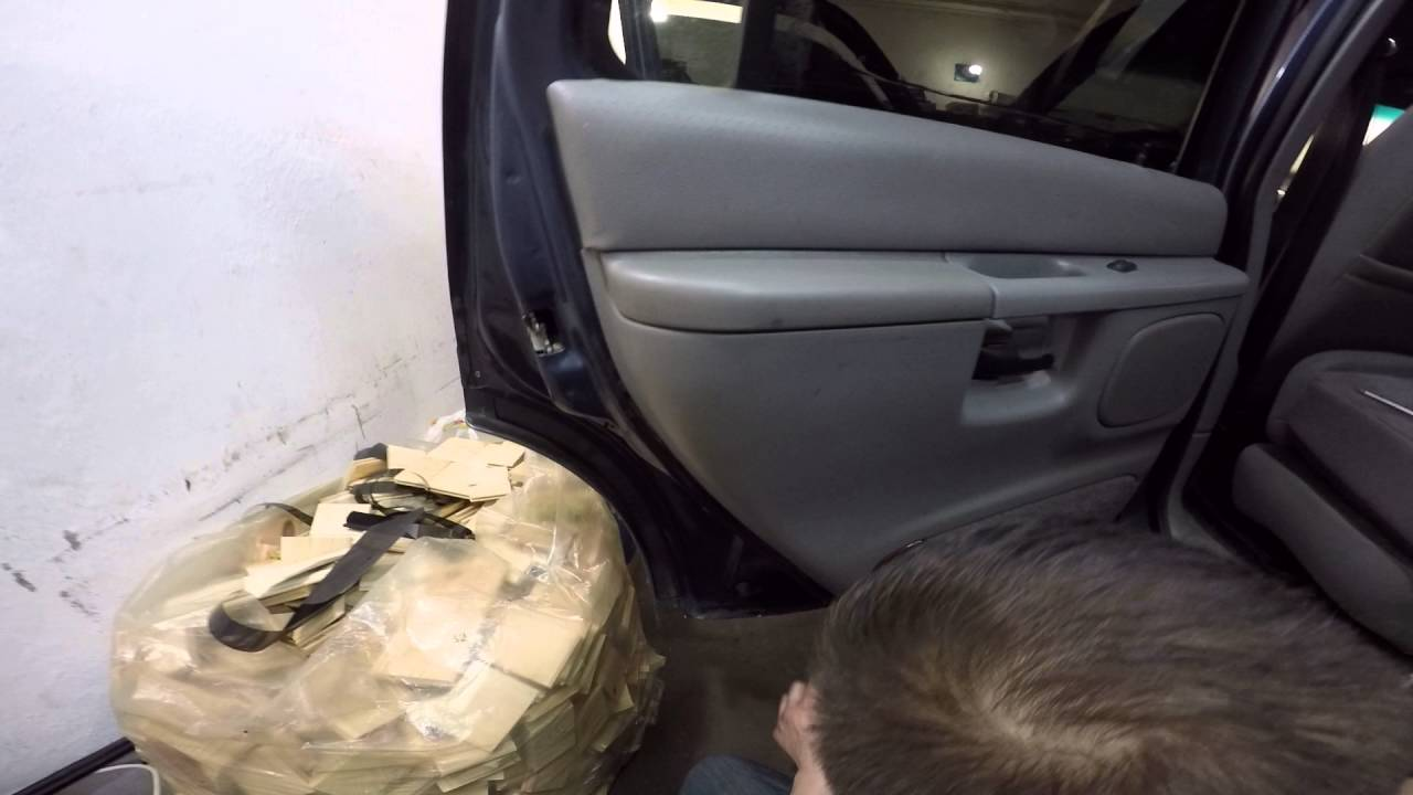 Ford Explorer disassembly door -Ford Explorer  разборка двери part I