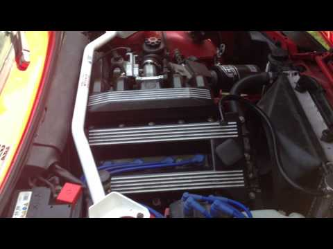 BMW e30 318is walk around m42 engine - my Hillclimb Car