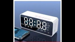 Hướng Dẫn Cài Đặt Giờ-Báo Thức Cho Loa Bluetooth Kiêm Đồng Hồ Báo Thức G50