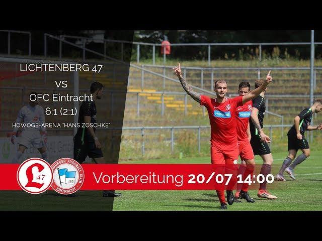 Regionalligateam: Spielszenen Lichtenberg 47 – Oranienburger FC Eintracht